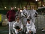 De gauche à droite et de haut en bas: Patrick, Stéphane, Guillaume, Sébastien, Vincent, Arnaud